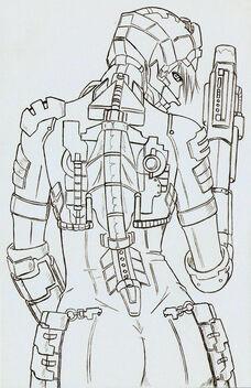 Dead Space Sexy Back Pencils by monkey0toe0man