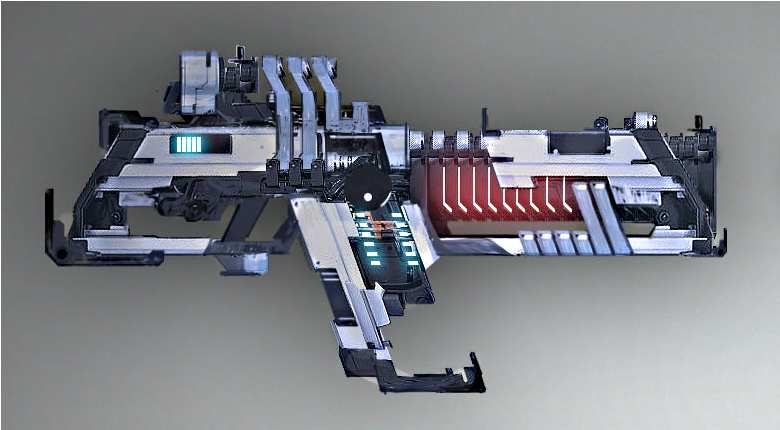 Dead Space 3 Rifle Heavy Pulse Rifle | De...