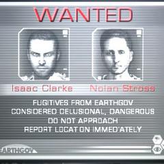 Айзек и Нолан Стросс на экране Разыскиваются, числятся беглецами.
