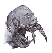 Necromorph head by synthomniac-d3iibrf