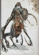 Alien Necromorph Concept Art