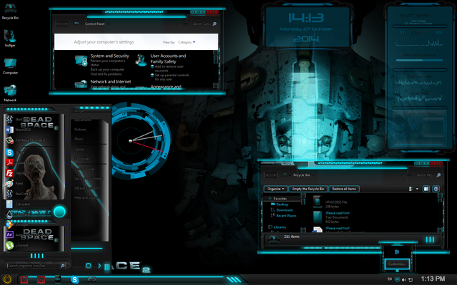 File:Dead space windows-7-theme.png