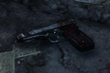 File:Unknown pistol (Probably used in systematically suicide).JPG
