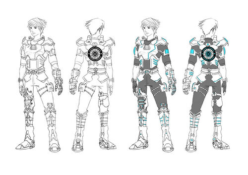 Space man character design by joelee88-d3l166z