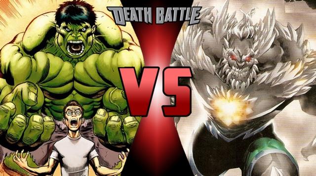 Image - Hulk vs Doomsday.png - DEATH BATTLE Wiki Doomsday Vs Hulk Death Battle