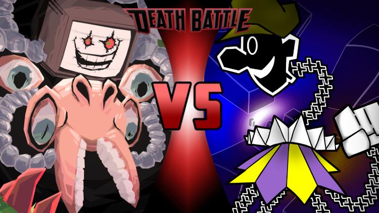 Death Battle Sans Vs Dimentio By Cortedelpapel Deviantart