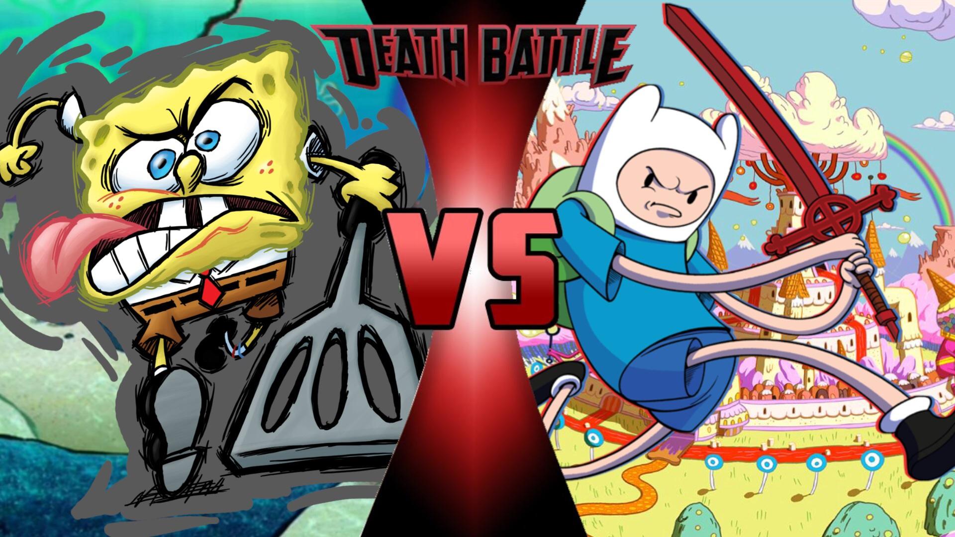 Image spongebob squarepants vs finn the human jpg death battle