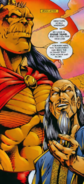 Mortal Kombat - Shang Tsung with Goro as seen in the 1990s comics