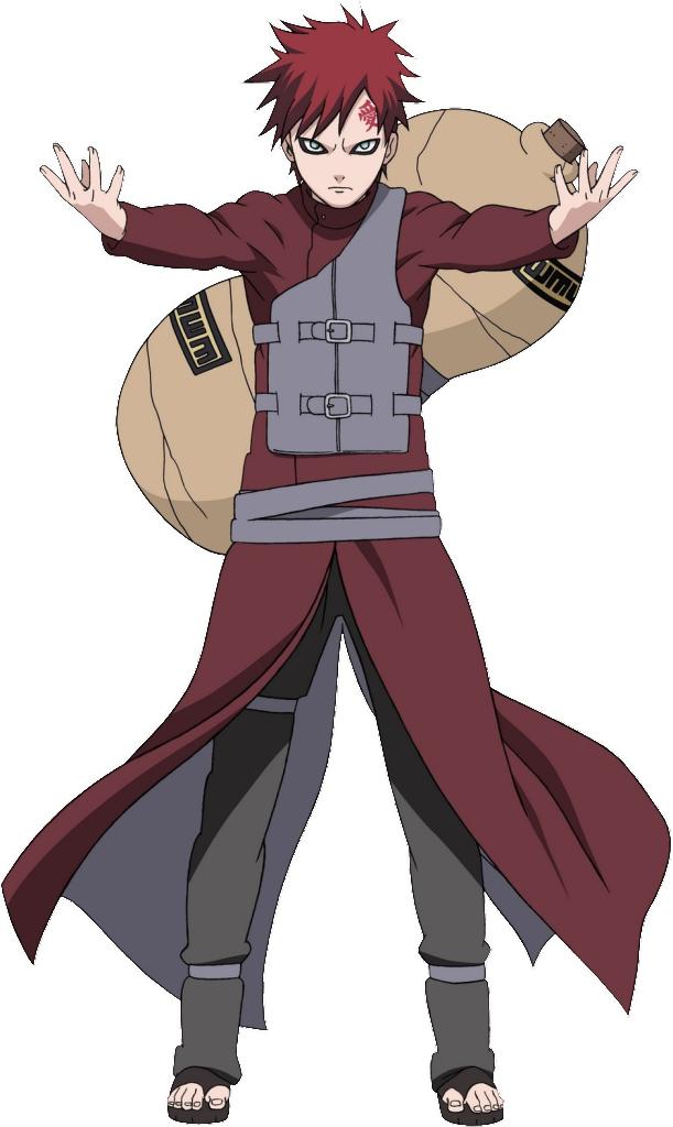 Gaara is a character from the  Gaara Of The Desert Shippuden