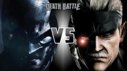 Batman vs Solid Snake