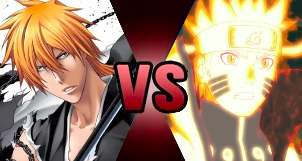 Ichigo Kurosaki vs. Naruto Uzumaki | Death Battle Fanon ... | 600 x 320 png 321kB