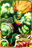 Street Fighter - Blanka as seen on the Street Fighter IV Battle Combination Card