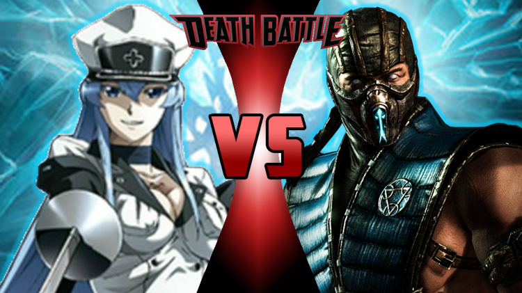 Esdeath VS Sub-Zero | Death Battle Fanon Wiki | Fandom powered by Wikia