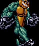 Battletoads - Zitz as he appears in sprite form