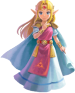 The Legend of Zelda - Princess Zelda as she appears in A Link Between Worlds