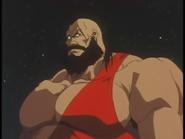 Street Fighter - Zangief as he appears in Street Fighter II V