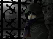The Legend of Zelda - Princess Zelda dressed in her dark attire in Twilight Princess