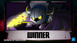 Meta Knight WINNER