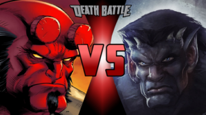 Hellboy VS Goliath