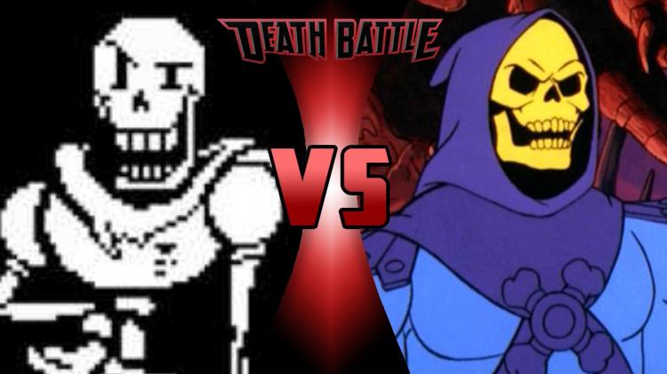 Papyrus VS Skeletor | Death Battle Fanon Wiki | Fandom ...