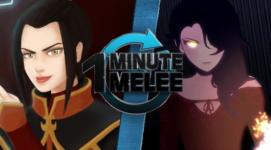 User blog:Shadow7615/One Minute Melee - Azula vs. Cinder ...