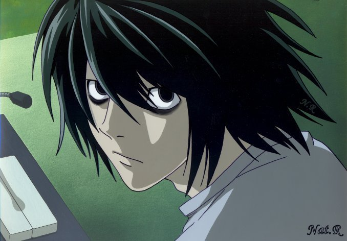 Image   L Fancel From Death Note By Escaf | Death Note Wiki | FANDOM  Powered By Wikia