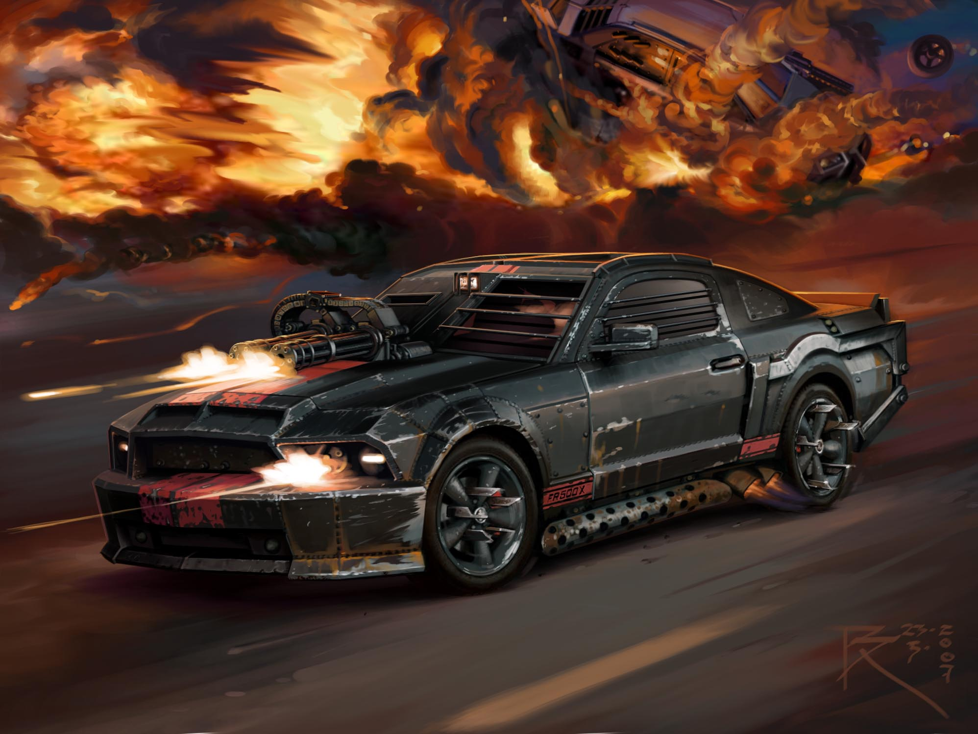 Image ford mustang shelby gt500 front 6psd jpg death race wiki fandom powered by wikia