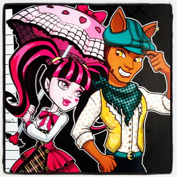 Image - 119441-monster-high-draculaura-and-clawd-wolf.jpg