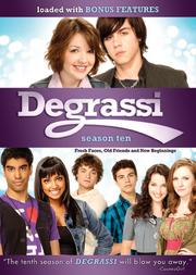 Degrassi Season 10 DVD cover