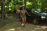 Marisol In Her Bikini Running From The Katie's Car To Jake Leaving Katie & Drew By Her Car