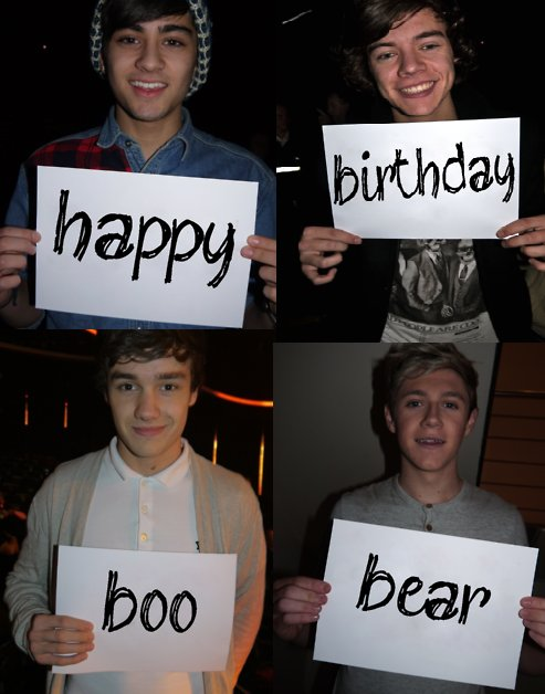 One Direction Birthday Katinabags – One Direction Birthday Greeting
