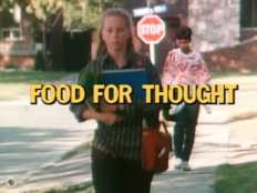 Food for Thought - Title Card