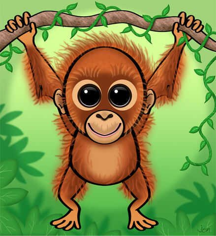 File:Baby orangutan.jpg