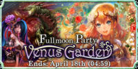 Fullmoon Party - Venus Garden