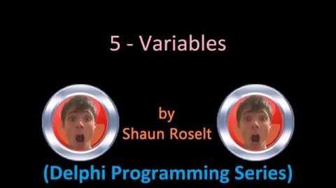 Delphi Programming Series 5 - Variables