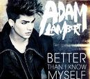 Better Than I Know Myself (Adam Lambert song)