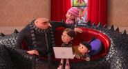 Edith,Gru,Agnes and Margo in DM