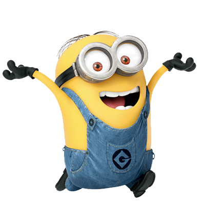 Names of minions and descriptions with individual pictures