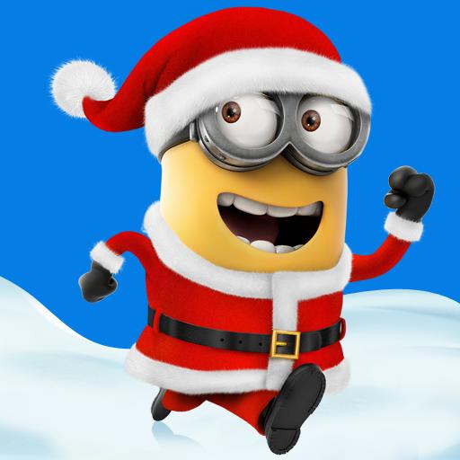 Merry Christmas Minion Clipart - Clipart Kid