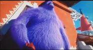 Despicable Me 2 Eduardo mutated into a purple monster
