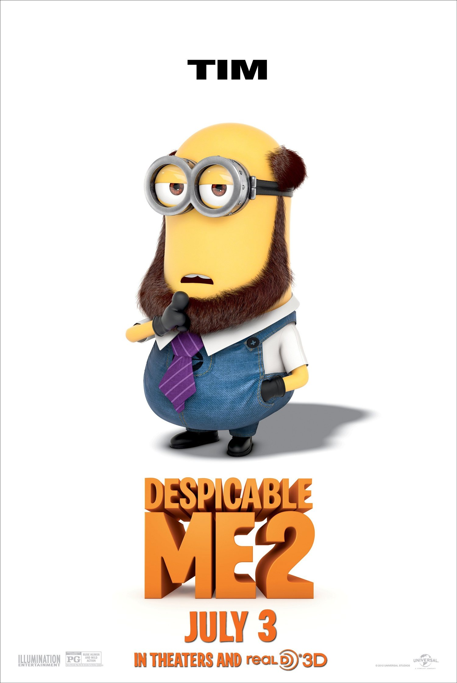 Full resolution  Despicable Me 2 Minions Poster