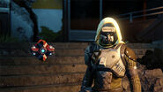 A Hunter with a customized Ghost