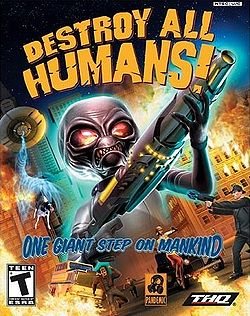250px-Destroy All Humans box art for the PlayStation 2
