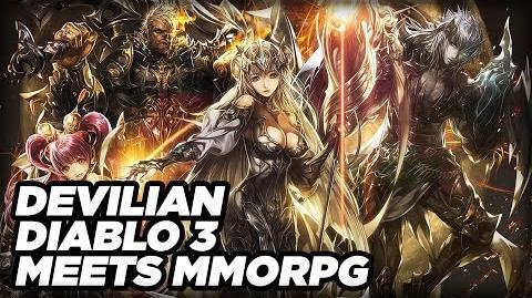 Devilian is Diablo III Meets MMORPG - Gameplay Demo