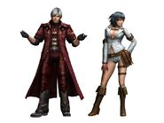 Dante Lady render Monster Hunter