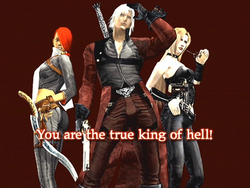 DMC2 - King of Hell Bonus Picture 01