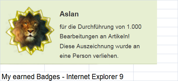Datei:My earned Badges - Internet Explorer 9.png