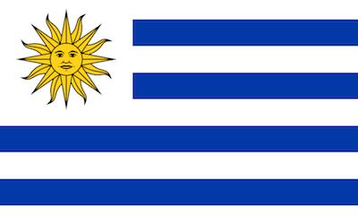 Datei:Uruguay Flagge.png