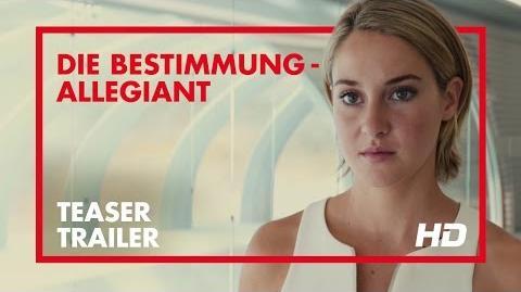 Die Bestimmung - Allegiant - Trailer