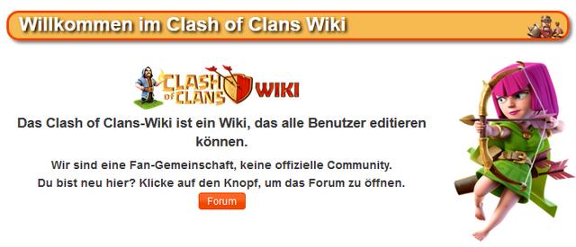 Datei:WillkommenCoCWiki.png